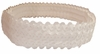Sequin Headbands White - Opalescent