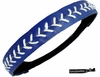 Softball Headband Navy/White