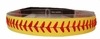 Softball Headband Yellow/ Red