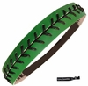 Softball Headband Green/Black