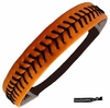 Softball Headband Orange/Black