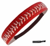 Softball Headband Red/White