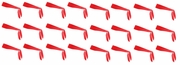 Tie Back Heabands Red 24 Pack