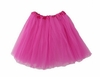 Tutu Mini Shirts for Girls - Hot Pink