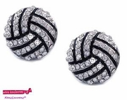 Volleyball Post Earring