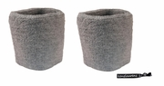 Wristbands 2 Pack Gray