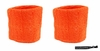 Wristbands 2 Pack Orange
