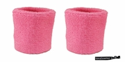 Wristbands 2 Pack Pink