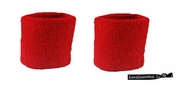 Wristbands 2 Pack Red