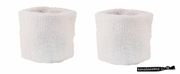 Wristbands 2 Pack White