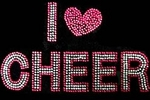 Cheer Rhinestone T-Shirts