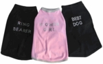 Dog T-Shirts and Collars