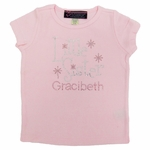 """Little Sister"" Rhinestone T-shirt   Includes Personalization"