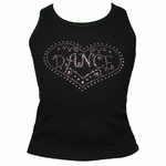 """Love to Dance"" Girls Rhinestone T-shirt"