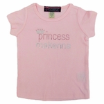 Pink Princess Rhinestone T-shirt  Personalization Included