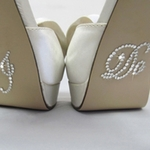 RHINESTONE SHOE STICKERS