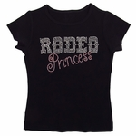 Rodeo Princess in Pink and Clear Rhinestones