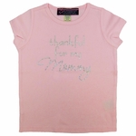 """Thankful for My Daddy"" Rhinestone T-shirt"