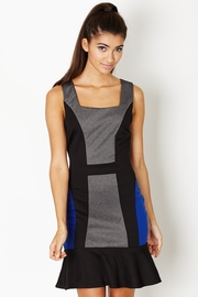 Attitude Adjustment Colorblock Dress with Flounce
