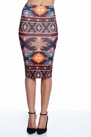 Aztec Explosion Pencil Skirt