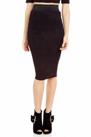 Back Stabber Glittered Pencil Skirt