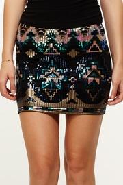 Brighten Up Sequined Tribal Skirt