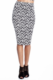 Chevron to Your Escape Skirt