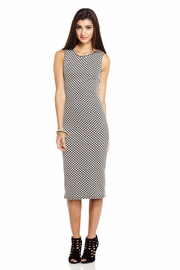 Crosshatch it Out Midi Dress