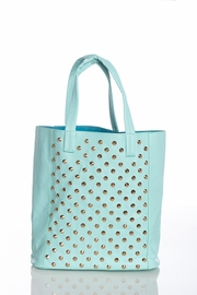 Day in the City Spiked Mint Tote