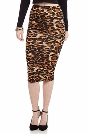 Double Leopard-y Pencil Skirt