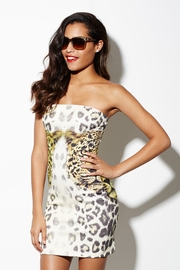 Dueling Leopards Tube Dress
