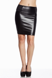 Epic Escape High-Waisted Black Pencil Skirt