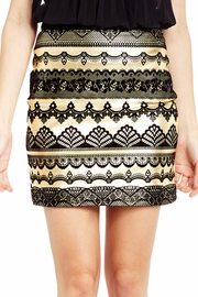 Fan Favorite Flocked Skirt
