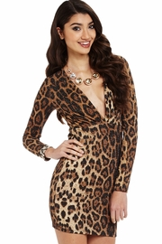 Get Spotted Leopard Dress