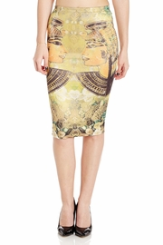 Going Head to Head Pencil Skirt