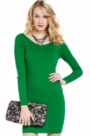 Great Escape Ribbed Sweater Dress