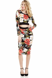 Here I Am Cutout Midi Dress