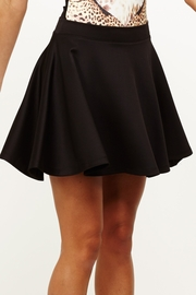 High School Sweethearts Black Skater Skirt
