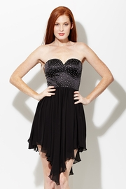 Homecoming Queen Strapless Dress