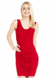Hug Your Body Con Textured Dress