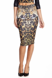 Leopard Illusion Skirt