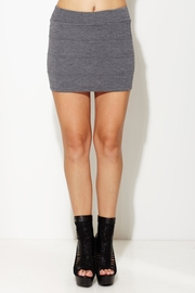 Line Up Bandage Knit Skirt