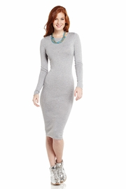 Move Along Long Sleeve Sweater Dress