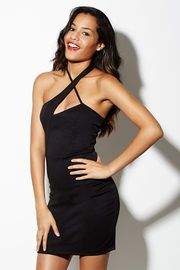 Neck in Neck Halter Dress