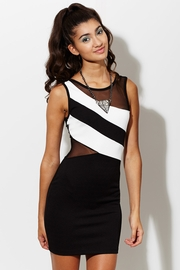Never Back Down Textured Dress
