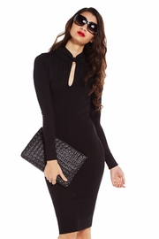 Never Bow Out Sweater Dress
