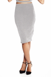 No Excuses Crosshatch Skirt