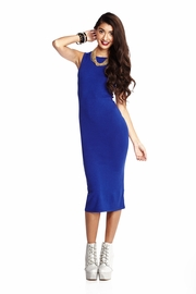 One Stop Shop Royal Knit Midi Dress