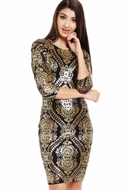 Rock the House Sequined Dress