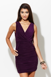 Ruch or Dare Dark Purple Dress
